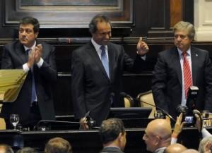 Legislatura bonaerense: «El verdadero cambio no es cambiarlo todo», dijo Scioli