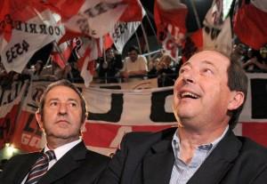 """Al sostener que la UCR """"saldrá unida"""" de la Convención, Sanz le pidió a Cobos que defina """"con quién quiere ir"""""""