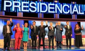 debate presidencial chile