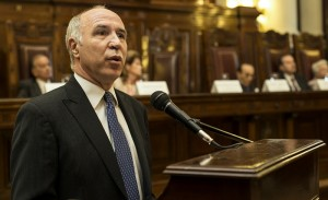 Respuesta a CFK: Lorenzetti recordó que ya hubo una sentencia sobre el caso de la embajada de Israel