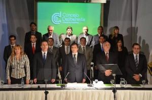La oposición (precandidatos peronistas) se pronunció tras el discurso de Mestre