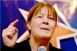Tras bajarse Binner, Stolbizer anunciaría en 15 días su precandidatura presidencial