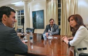 Tras el triunfo en las PASO salteñas, CFK recibió a Urtubey en Olivos