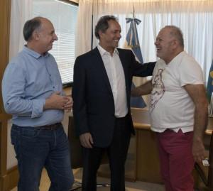 """Elecciones: Apoyo de Scioli a la fórmula del Frente """"Córdoba Podemos"""""""