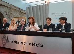 CFK acto 7 de abril