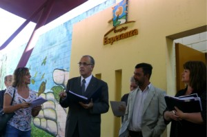 González del Solar encabezó inspección ocular del Complejo Esperanza