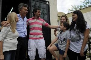 Junto a Sanz, Macri consolidó su apoyo al candidato radical