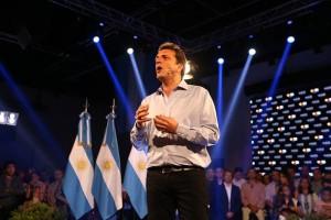 Massa en Tigre Festejo elecciones legislativas