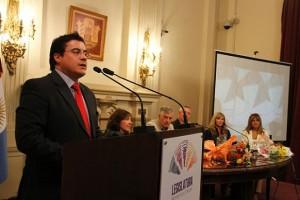 Presentación del libro. Correa