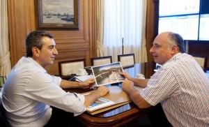 Randazzo con Accastello por el Belgrano Cargas