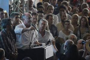 """""""Ahora se acuerdan que hace falta agua, cloacas…vayan a Villa María"""""""