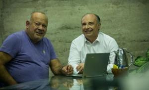 Elecciones: El humorista Cacho Buenaventura es el compañero de fórmula de Accastello