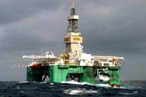 base en el mar petroleo