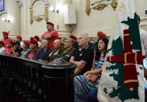 Incorporan a la ley provincial, rendición de honores fúnebres para ex combatientes de Malvinas