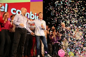 """Macri: """"Les pido a los ciudadanos que nos acompañen con su voto para seguir trabajando juntos"""""""
