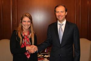 Argentina y Rusia acordaron aumentar el comercio bilateral industrial