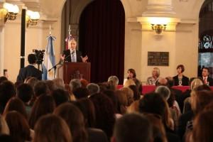 """Lorenzetti destacó que el nuevo Código Civil """"es para todos, no sólo para abogados"""""""