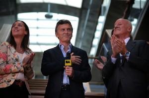 Macri, presidió el acto de inauguración de la nueva sede de Gobierno