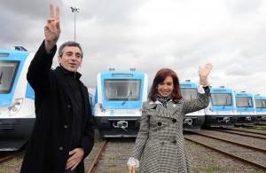 """Recuperación de los Trenes: """"Los argentinos estamos construyendo nuevos sueños"""", afirmó CFK"""