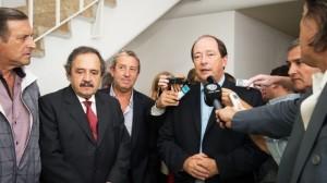 Ernesto Sanz no descartó integrar un eventual gabinete de Macri