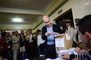 PASO:  Rodríguez Larreta se impuso sobre Michetti y el FPV quedó tercero, detrás de ECO
