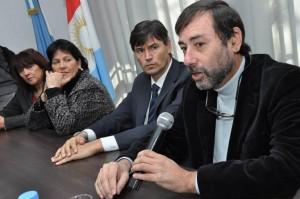 Juan Carlos Mansilla en Mina Clavero.