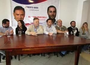 Al presentar candidatos, Birri insistió en afirmar que el modelo delasotista está agotado