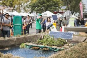 Energía solar y drones para tratar los ríos contaminados