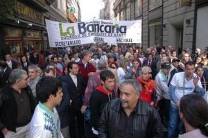 """Fuerte crítica de bancarios al ministro Kicillof: """"Es un gorila"""""""