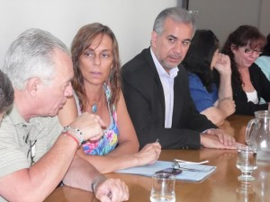 Unicameral: Candidata por el Accastellismo, renunció a presidir el bloque juecista
