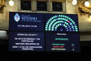 Senado aprobó leyes de implementación del nuevo Código Procesal Penal