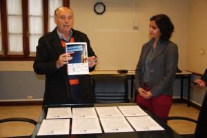 Accatello rubricó su compromiso con la Agenda del Gobernador