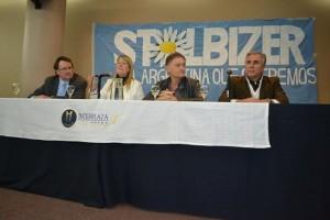 Elecciones: Stolbizer presentó fórmula presidencial y respaldó a Birri