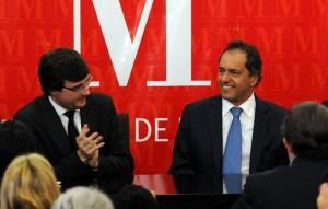 """Para Scioli, el FpV es el partido """"más coherente y confiable"""""""