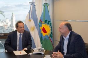 """Accastello afirmó que con Scioli trabajan juntos para el """"desarrollo integral"""" de Córdoba"""