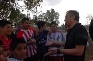 Tras la implementación del BEG y del BOS, candidato macrista prometió que crearán el Boleto Deportivo Social