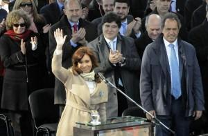 En la cadena nacional, CFK evitó hablar de su futuro político. Máximo será candidato a diputado por Santa Cruz