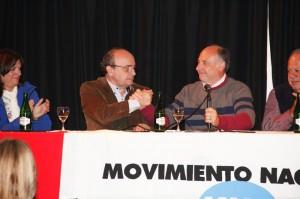 Elecciones: Junto a Moreau, Accastello también se muestra con intendentes radicales