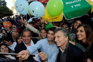 De campaña por el norte del país, Macri retrucó a CFK con el Indec y la pérdida de mercados