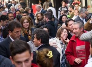 Rumbo a la Rosada: Desde Córdoba, Massa ratificó su precandidatura y Macri desmintió a Aníbal