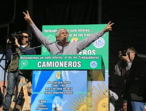 """Moyano acusó a la administración K de ser  un """"gobierno comunista con nuestra plata»"""