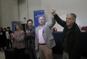 Rumbo a El Panal: Accastello recibió el apoyo de De Vido