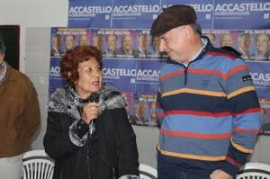 Desde el sur provincial, Accastello se comprometió a ejecutar Plan de Obras para rutas y caminos secundarios