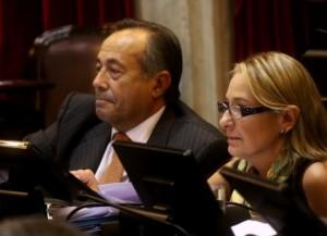 Liliana Negre de Alonso acompañará a Rodríguez Saá