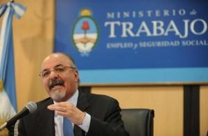 Desde Ginebra, Tomada defendió el modelo gremial argentino
