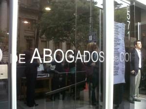 Tras obtener el triunfo en Abogados, Echegaray impulsará una mesa de trabajo con el próximo gobernador
