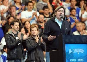 El oficialismo no descarta postulación de Máximo Kirchner