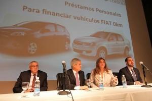Bancor lanzó nueva línea de crédito para la compra de autos Fiat 0km