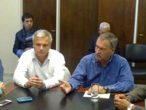 Schiaretti se mostró junto a intendentes de otro signo político que fueron legitimados en las urnas