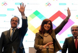 CFK volvió a defender la intervención del Estado en la economía